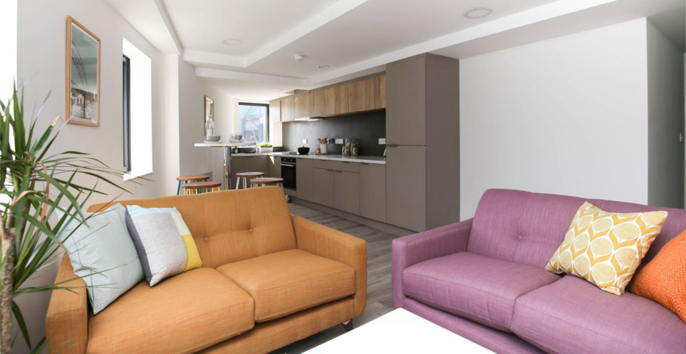 चार बेडरूम अपार्टमेंट, सेंट जेम्स व्यू